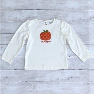 Gymboree Lil Pumpkin Long Sleeve Shirt